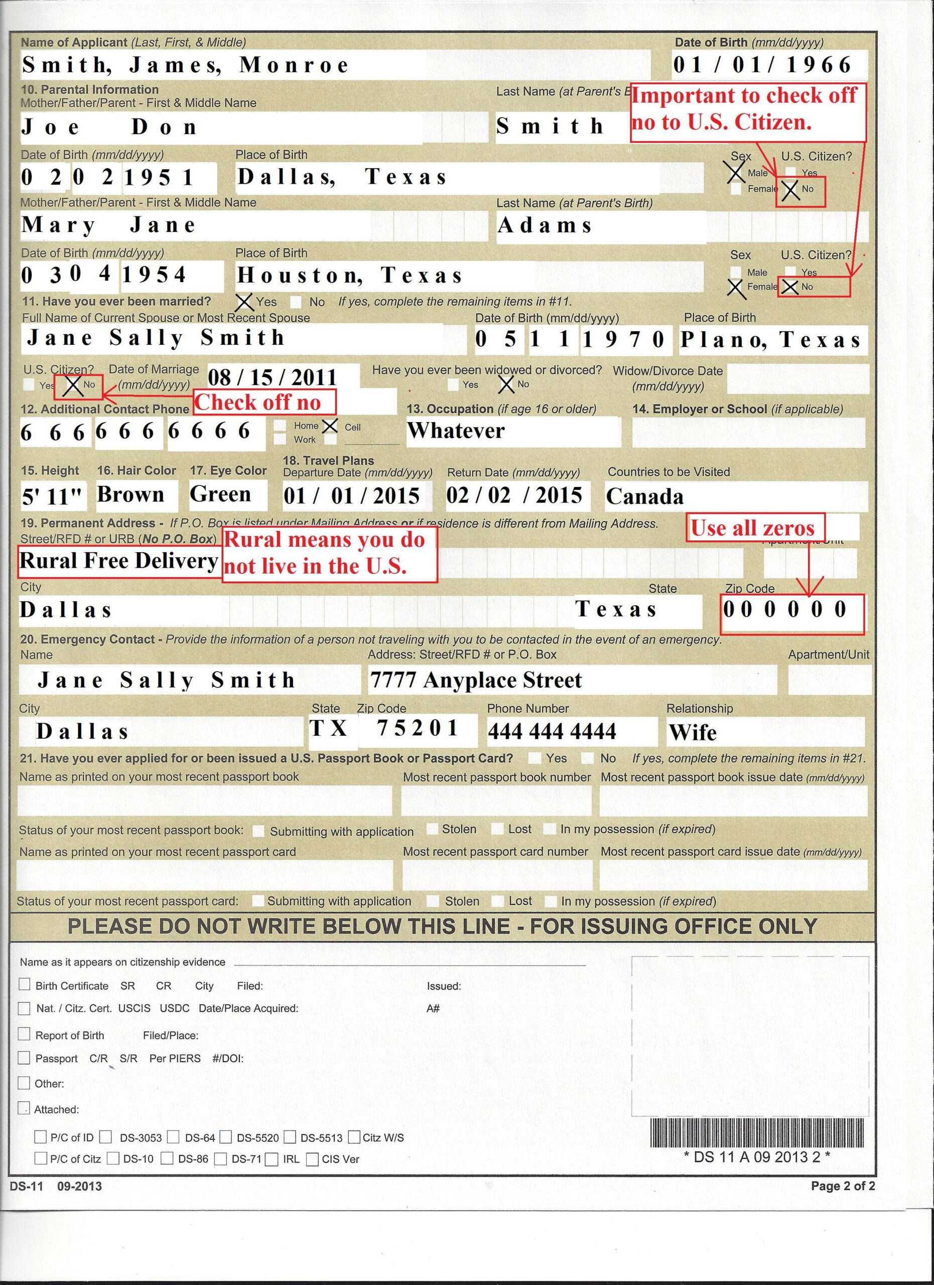 28 Ds11 Passport Form 2016 In 2020 Passport Application