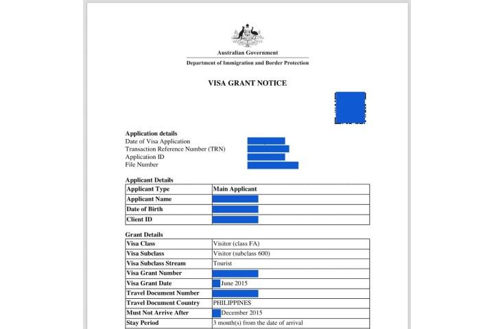 Download Indian Tourist Visa Application Form Australia