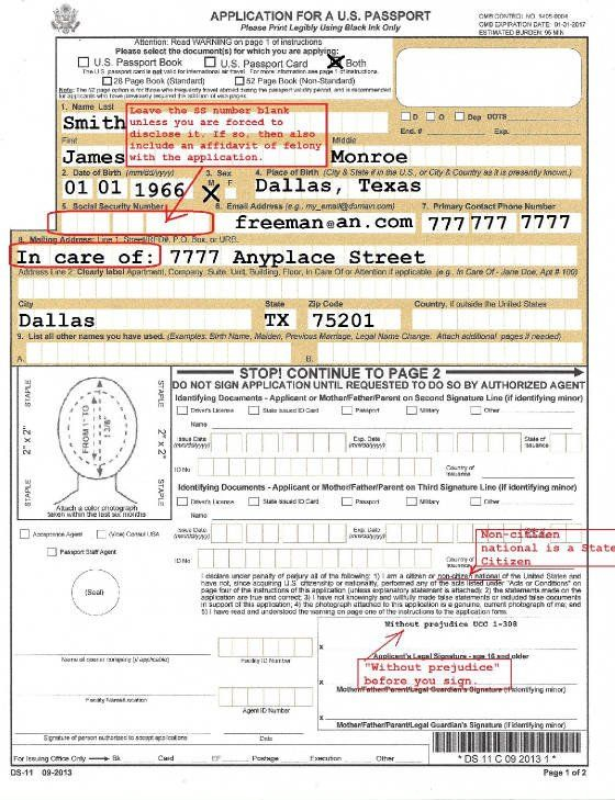 Form Ds 11 Download Ds11 Passport Application Ebook