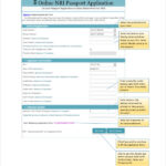 FREE 8 Sample Passport Application Forms In PDF