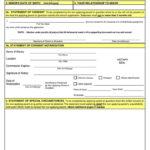 Free Passport Parental Consent Forms Form DS 3053 Word PDF