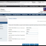 How To Fill Passport Application Form Online YouTube