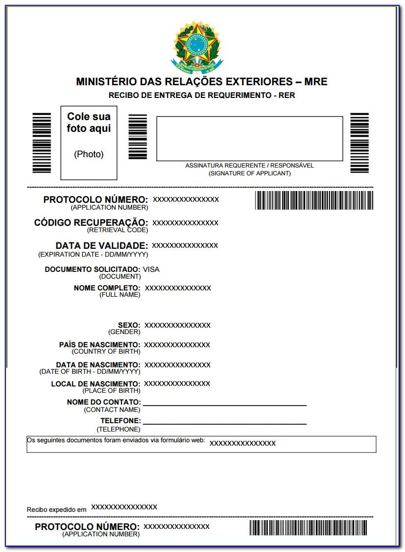 Printable Passport Renewal Application Form Uk Form