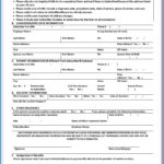 United States Passport Renewal Application Forms Form