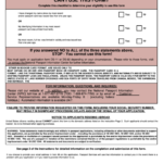 Us Passport Application Form Printable Pdf Download