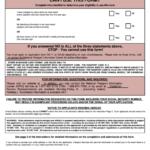 Us Passport Application Form Printable Pdf Download