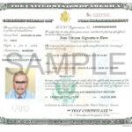USCIS Revises Naturalization Certificate Capitol