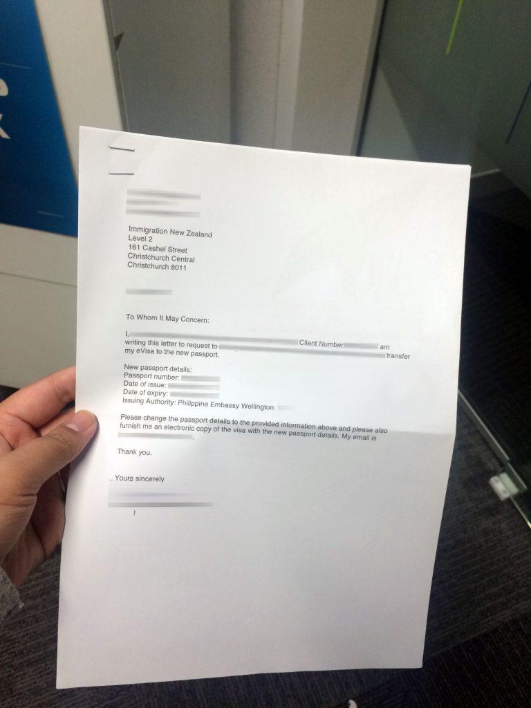 Address To Mail Passport Application
