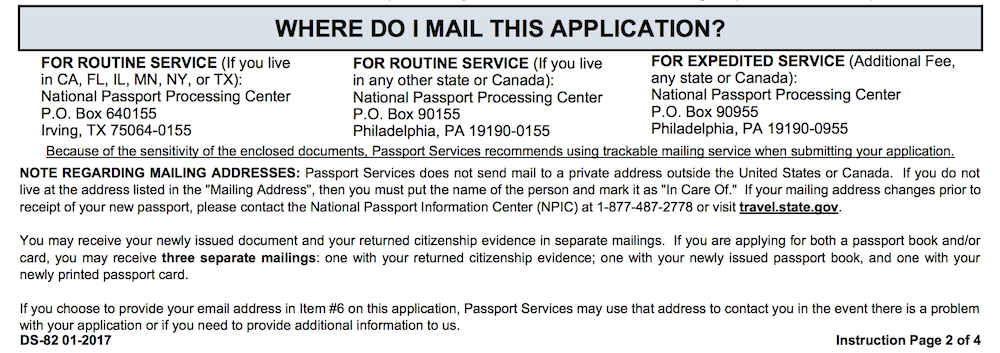 Can You Renew Your Passport Online UponArriving