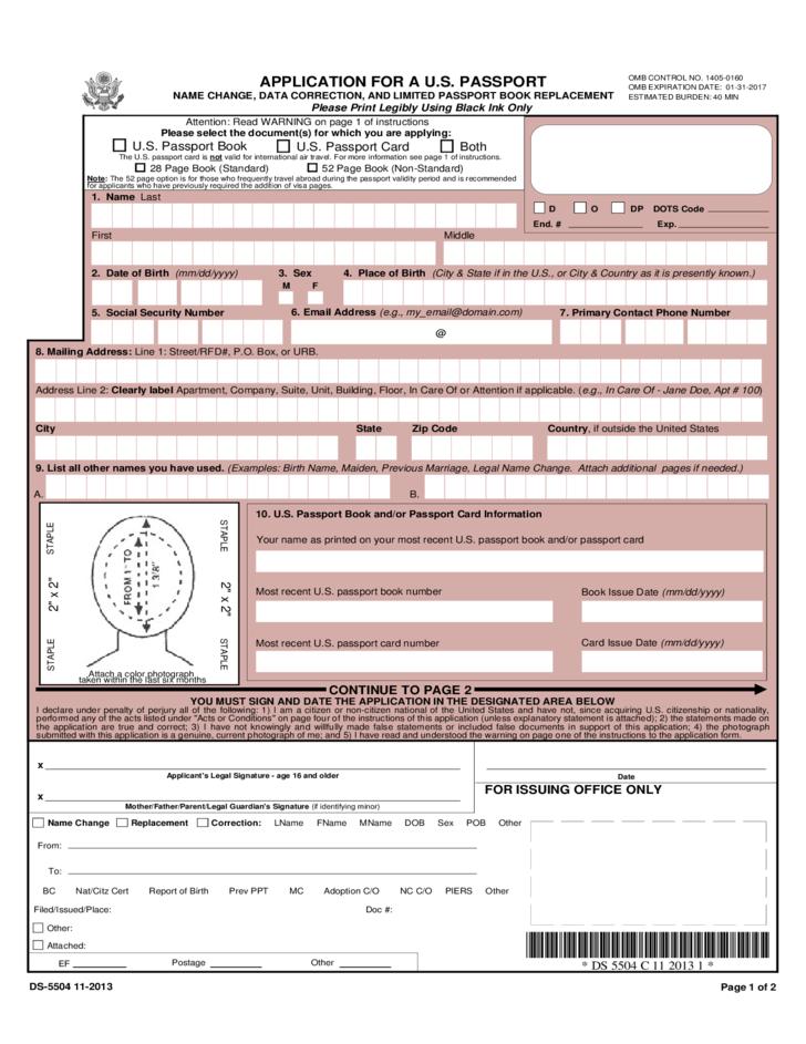 Change Of Address Of Passport Australia Free Download