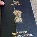Damaged Indian Passport Travel Stack Exchange