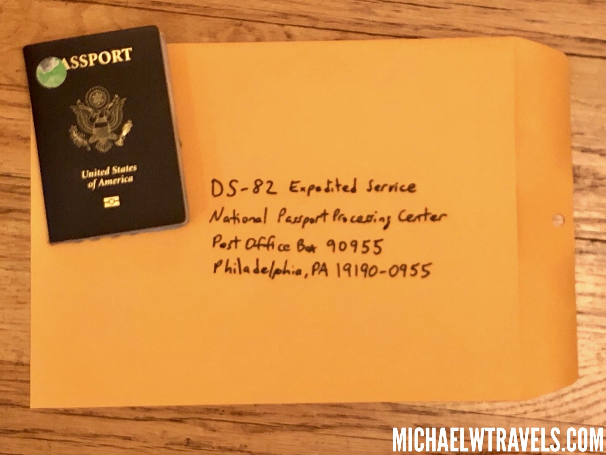 Do You Get Nervous When Renewing Your Passport Michael