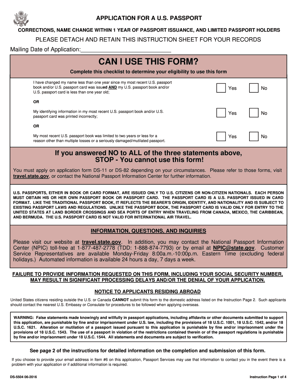 Ds 5504 Fill Online Print And Download In PDF