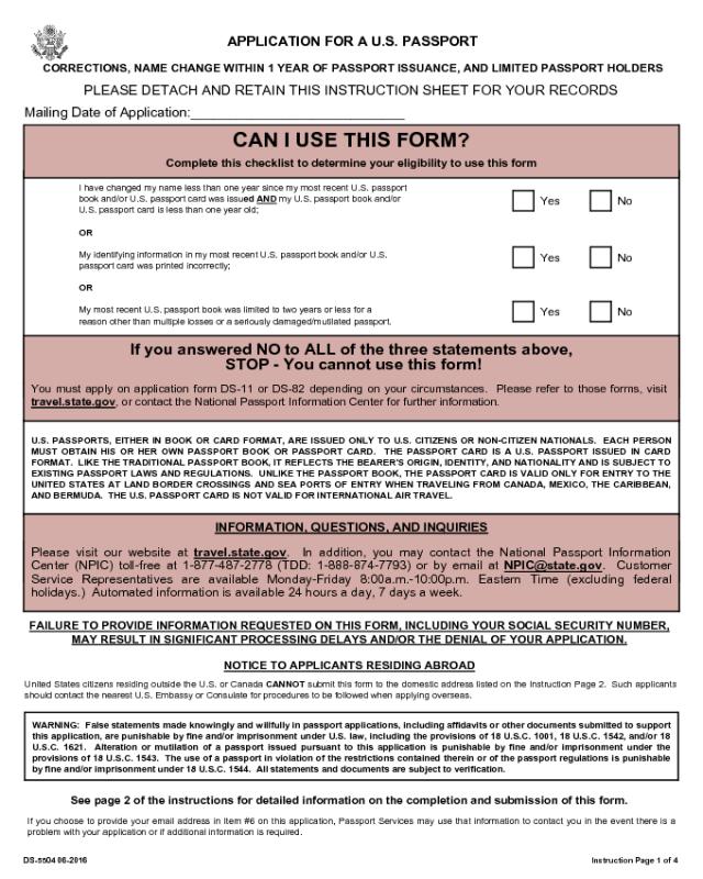 Form DS 5504 Edit Fill Sign Online Handypdf