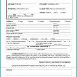 Form For Passport Renewal Australia Form Resume