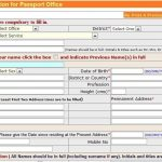 Free Passport Renewal Form Line Application October 2015
