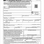 Free Passport Renewal Form Sample Passport Renewal Form 8