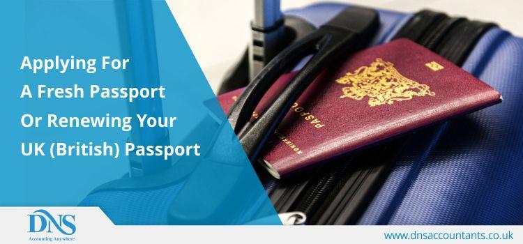 How Do I Renew My UK Passport Online Passport Online
