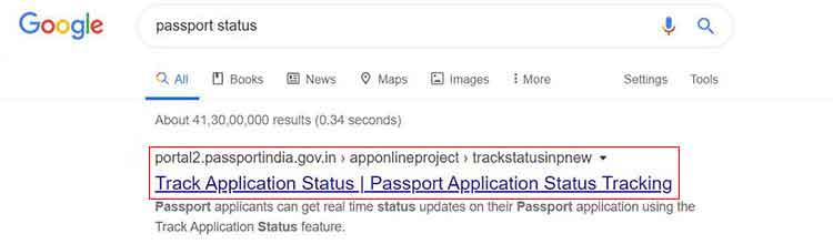 How Passport Status Check