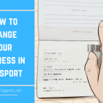 How To Change Address In Passport Passport Agents