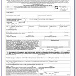 Indian Passport Renewal Form 1 PrintableForm