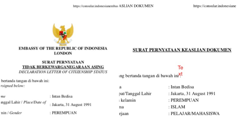 Indonesian Passport Renewal In The UK Is So Easy Link