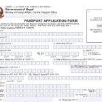 Nepali MRP Passport Application Form Nepali MRP