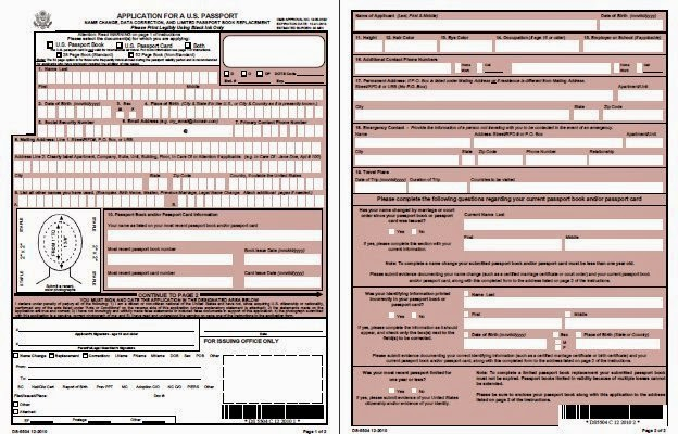New Or Renewal Passport Online Apply For Passport Name