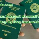 Nigerian Passport Renewal Guide How To Renew Nigerian