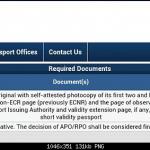 Passport Renewal Procedure Page 61 Team BHP