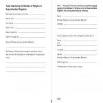 Passports Application Form For Newlyweds And Civil