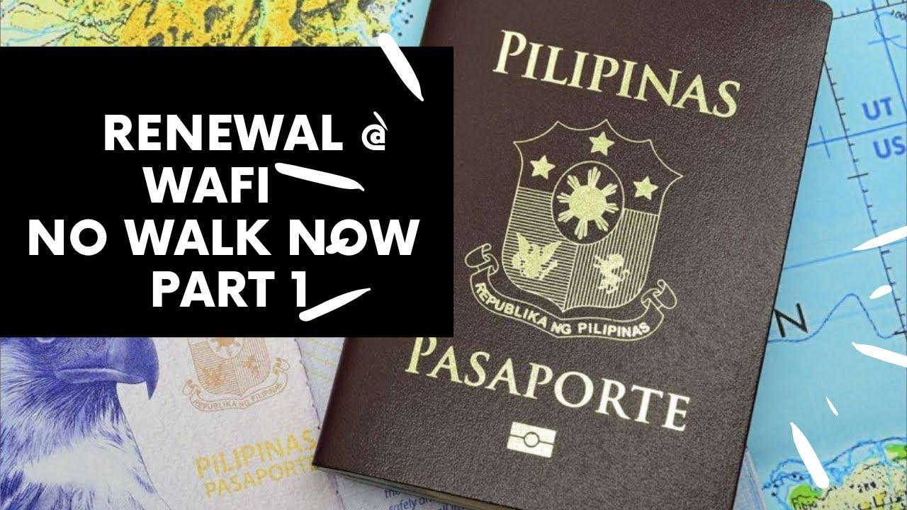 Philippine Passport Renewal At Wafi Mall Part 1 YouTube