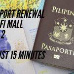 PHILLIPINE PASSPORT RENEWAL WAFI MALL PART 2 YouTube