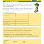 Post Passport Application Form Printable Pdf Download