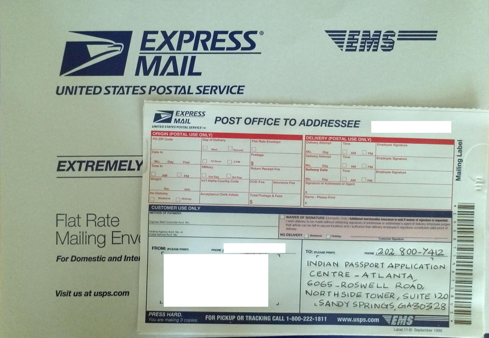Sudeep s BLOG How To Renew An Indian Passport In USA