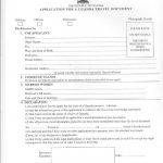 Uganda Passport Application Forms Form A B Passport