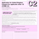 Uk Passport Application Form Pdf Fill Out And Sign