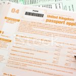 UK Passport Application Form Stock Photos FreeImages